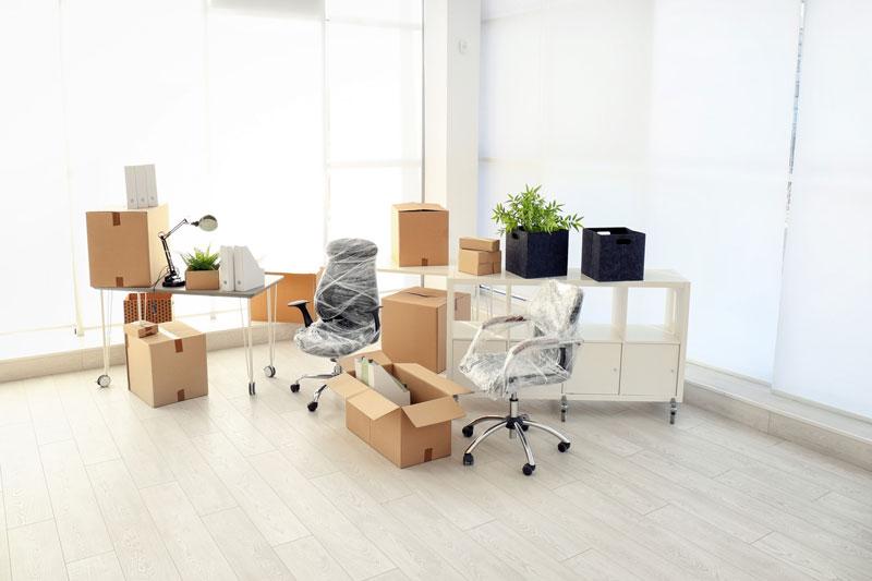 hacer una mudanza de oficina