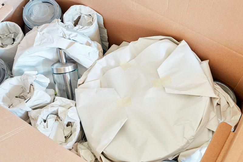 trasladar objetos frágiles