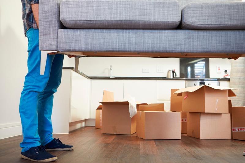 Proteger los muebles durante una mudanza
